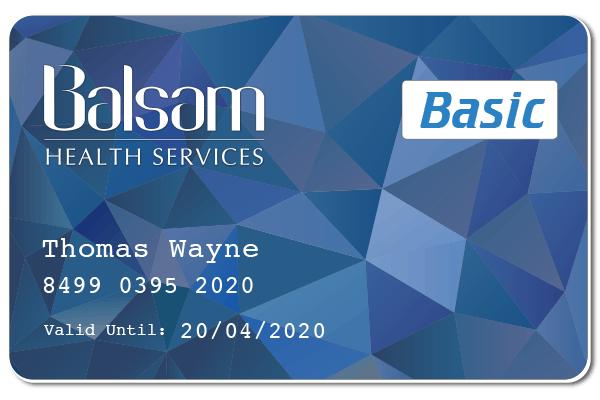 Balsam Basic Member Card