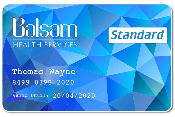 Balsam Standard Member Card