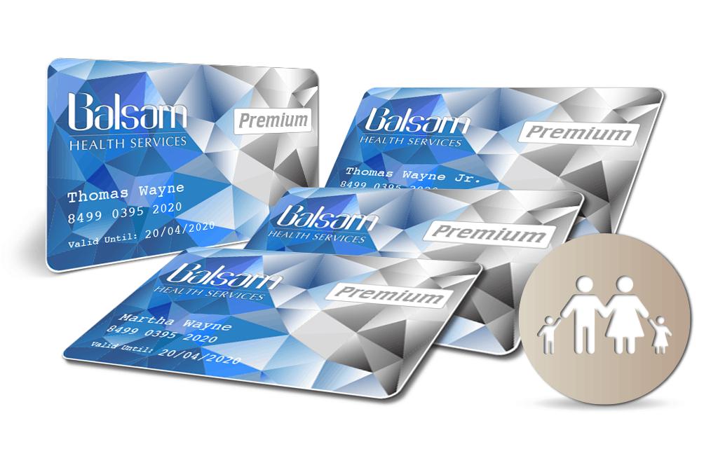Balsam Premium Card Family bundle