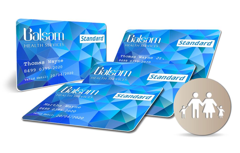 Balsam Standard Card Family bundle