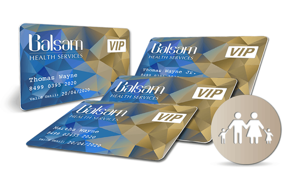 Balsam VIP Card Family bundle