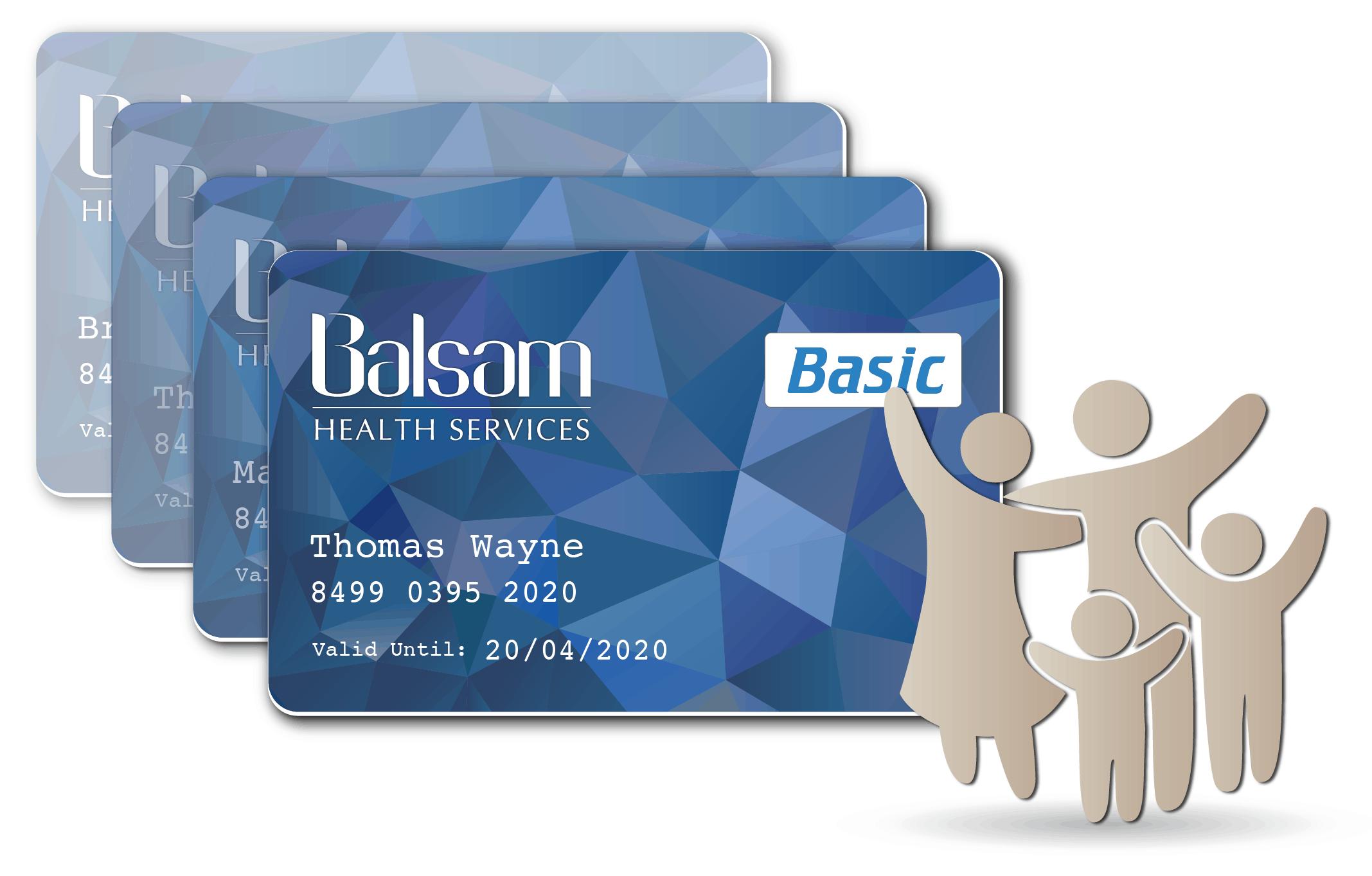 Balsam Basic Card Family bundle