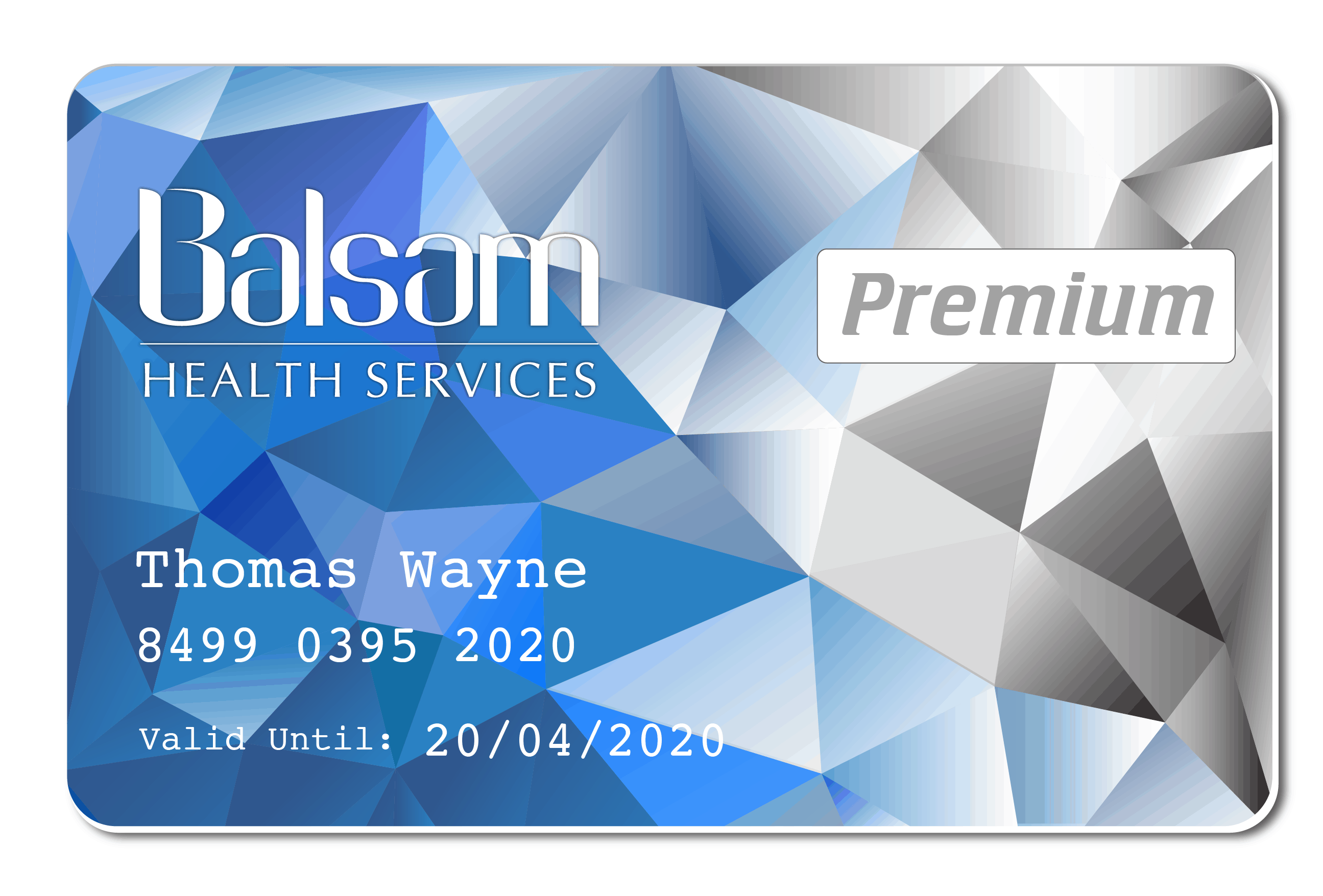 Balsam Premium Member Card